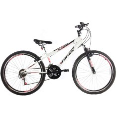 Bicicleta Mountain Bike Track & Bikes 21 Marchas Aro 26 Suspensão Dianteira Freio V-Brake Blaster