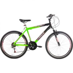 Bicicleta Mountain Bike Track & Bikes 21 Marchas Aro 26 Suspensão Dianteira Freio V-Brake TK 600