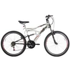 Bicicleta Mountain Bike Track & Bikes 21 Marchas Aro 26 Suspensão Full Suspension Freio V-Brake Boxxer New