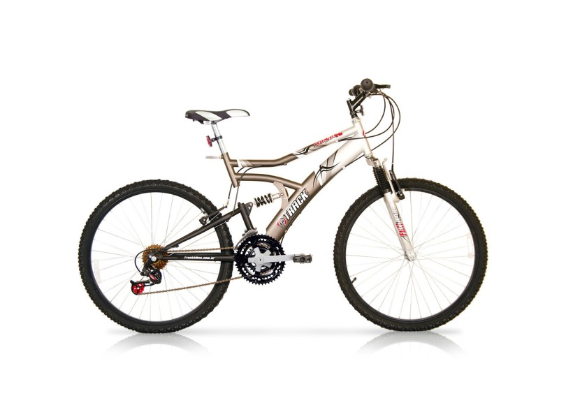 4dbaa347c Bicicleta Mountain Bike Track   Bikes Aro 26 21 Marchas Suspensão Full  Suspension Boxxer
