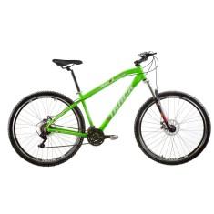 Bicicleta Mountain Bike Track & Bikes 21 Marchas Aro 29 Suspensão Dianteira Freio a Disco TK 29
