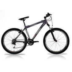 Bicicleta Mountain Bike Track & Bikes Premium 27 Marchas Aro 26 Suspensão Dianteira Freio V-Brake TK-700