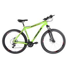Bicicleta Mountain Bike Traks 21 Marchas Aro 29 Suspensão Dianteira Freio a Disco TKS 29