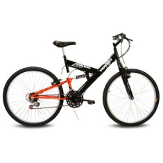Bicicleta Mountain Bike Verden Bikes 18 Marchas Aro 26 Suspensão Full Suspension Freio V-Brake Radikale