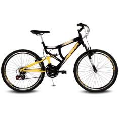Bicicleta Mountain Bike Verden Bikes 21 Marchas Aro 26 Suspensão Full Suspension Inspire