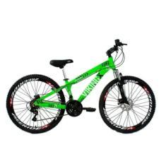 Bicicleta Mountain Bike Viking MTB 21 Marchas Aro 26 Freio a Disco Mecânico Viking x Tuff30
