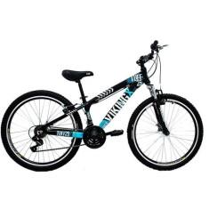 Bicicleta Mountain Bike Vikingx 21 Marchas Aro 26 Suspensão Dianteira Freio V-Brake Tuff25
