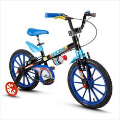 Bicicleta Nathor Aro 16 Freio V-Brake Tech Boys