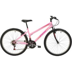 Bicicleta Polimet 18 Marchas Aro 26 Freio V-Brake 6P Feminina