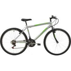 Bicicleta Polimet 18 Marchas Aro 26 Freio V-Brake 6P Masculina