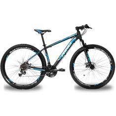 Bicicleta Rino 27 Marchas Aro 29 Suspensão Dianteira Freio a Disco Mecânico Atacama