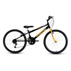Bicicleta Stone Bike 18 Marchas Aro 24 Freio V-Brake Teen Masculina