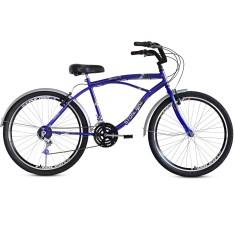 Bicicleta Stone Bike 21 Marchas Aro 26 Freio V-Brake Beach
