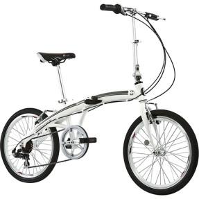 Bicicleta TITO Dobrável 7 Marchas Aro 20 Freio V-Brake To Go 20