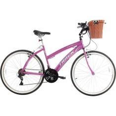 Bicicleta Track & Bikes 21 Marchas Aro 26 Freio V-Brake Week 200 Plus