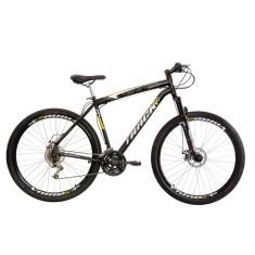 Bicicleta Track & Bikes 21 Marchas Aro 29 Suspensão Dianteira Freio a Disco Mecânico TB Niner