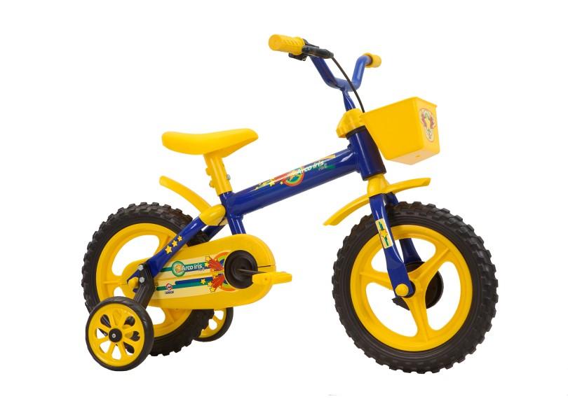 64b054283 Bicicleta Track   Bikes Aro 12 Arco-Íris