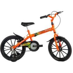 Bicicleta Track & Bikes Dino Aro 16 Freio V-Brake Dino Neon