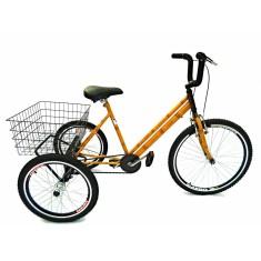 Bicicleta Triciclo Valdo Bike Aro 26 Bambu