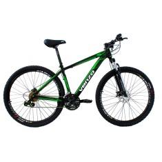 Bicicleta Venzo 24 Marchas Aro 29 Suspensão Dianteira Freio a Disco Hidráulico Falcon