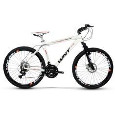 Bicicleta Wendy Bike 21 Marchas Aro 26 Suspensão Dianteira Freio a Disco Mecânico WNY Ultra