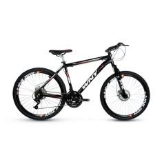 Bicicleta Wendy Bike 24 Marchas Aro 26 Suspensão Dianteira Freio a Disco Mecânico Wny