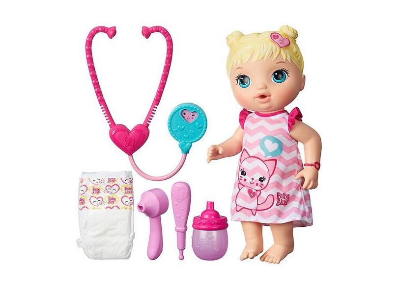 3822bc78dd Boneca Baby Alive Cuida de Mim Hasbro
