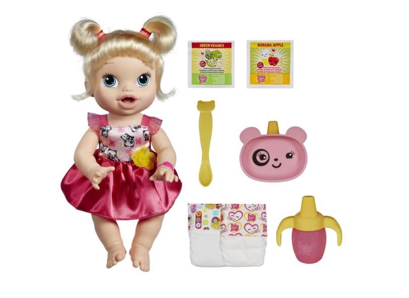 c51db046bc Boneca Baby Alive Hora de Comer Hasbro