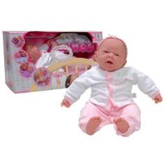Boneca Bebê Boca Aberta Cotiplás
