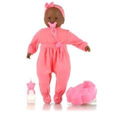 Boneca Bebê Mania Negra Roma Brinquedos