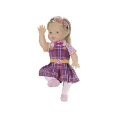 Boneca Carinha de Anjo Dulce Maria Baby Brink
