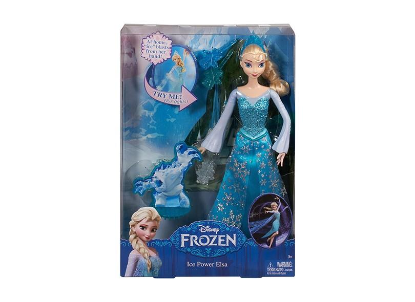 3a7b2e4d18 Boneca Frozen Em Ação Elsa Mattel