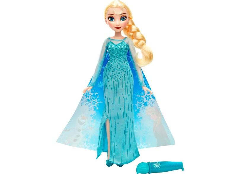 Boneca Frozen Vestido Mágico Elsa Hasbro