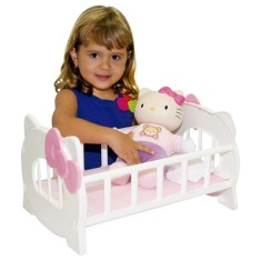 Boneca Hello Kitty Bercinho Baby Brink