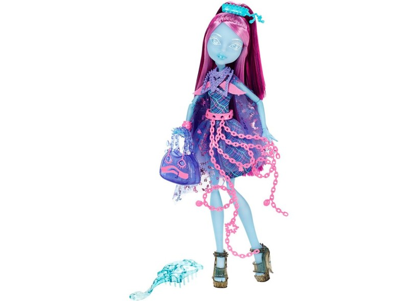 Boneca Monster High Assombradas Kiyomi Haunterly Mattel