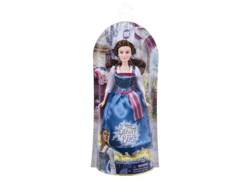 Boneca Princesas Disney A Bela e a Fera Vestido Vilarejo Hasbro cf4c92e8681