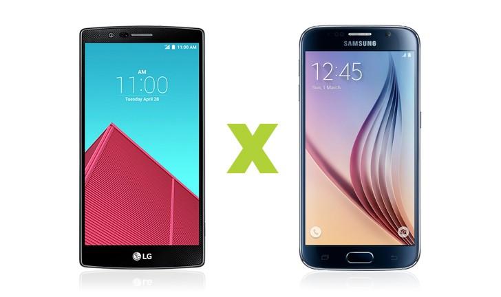 Briga entre tops de linha: LG G4 ou Galaxy S6?