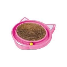 Brinquedo Com Arranhador Para Gatos Cat Crazy Rosa