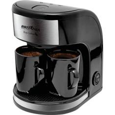 Cafeteira Elétrica 2 Xícaras Britânia Duo Coffee