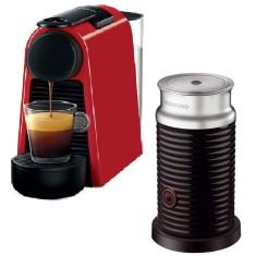 Cafeteira Expresso Nespresso Essenza Mini Combo Aeroccino D30