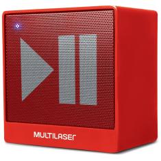 Caixa de Som Bluetooth Multilaser Mini 8 W