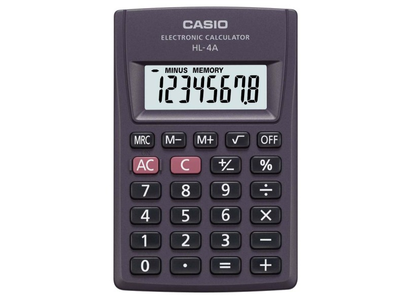 a6a1b7def34 Calculadora De Bolso Casio HL-4A