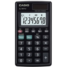 Foto Calculadora De Bolso Casio SL-797TV