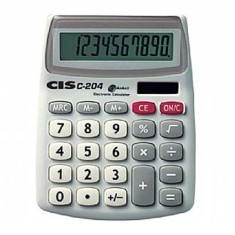 Calculadora De Mesa Cis C 204