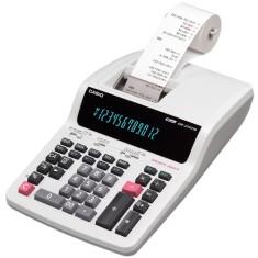 Calculadora De Mesa com Bobina Casio DR-210TM