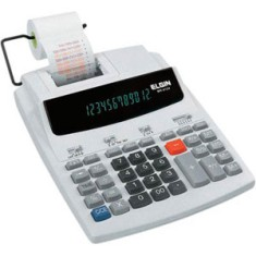 Calculadora De Mesa com Bobina Elgin MR6124