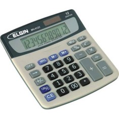 Foto Calculadora De Mesa Elgin MV-4123
