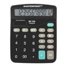 Calculadora De Mesa Masterprint Mp1086