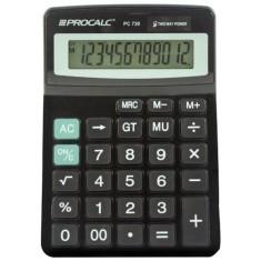 Calculadora De Mesa Procalc PC730