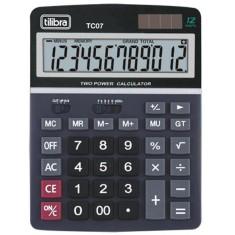 Calculadora De Mesa Tilibra Tc 07